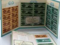 125分币八连体钞价格及收藏前景