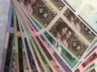 第四套人民币长城四连体钞回收价格
