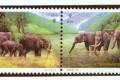 1995-11《中泰建交二十周年》假漏金邮票的真伪鉴别