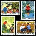 編號郵票82-85 赤腳醫生