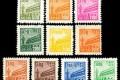 普东1 天安门图案普通邮票(东北贴用,第一版)