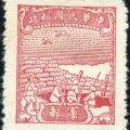 军2 中信版无面值军邮邮票