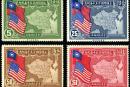 民纪12 美国开国一百五十周年纪念邮票
