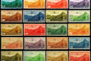 民航4 香港版航空邮票