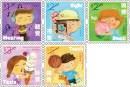 港澳台邮讯:香港邮政7月18日将发行《儿童邮票-人体五感官》邮票