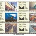 英國《鐵路郵政》電子郵票