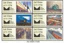 英国《铁路邮政》电子邮票