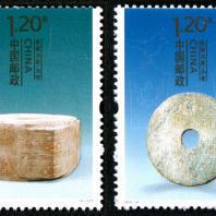 良渚玉器特種郵票展示了良渚文化和促進良渚文化的保護和研究