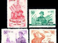 漫谈建军周年纪念邮票
