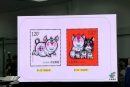 揭晓2019猪年生肖邮票的设计图稿