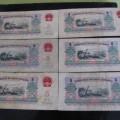第三套五元人民幣價格,1960年炭黑版五元真偽辨別