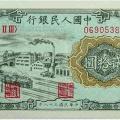 第一套人民币20元 立交桥