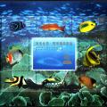 1998-29 《海底世界·珊瑚礁观赏鱼》小全张--第22届万国邮政联盟大会暨中国1999世界集邮展览