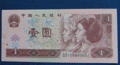 浅析96版1元人民币未来升值空间