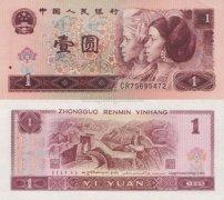 浅谈1996年1元人民币价格现在的发展概况