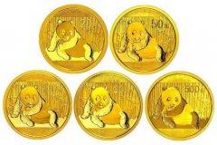 1998年熊猫金币套装值多少钱?一套有哪些规格?