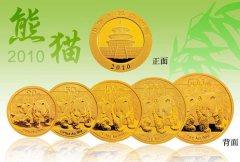 2010年熊猫金币套装值多少钱
