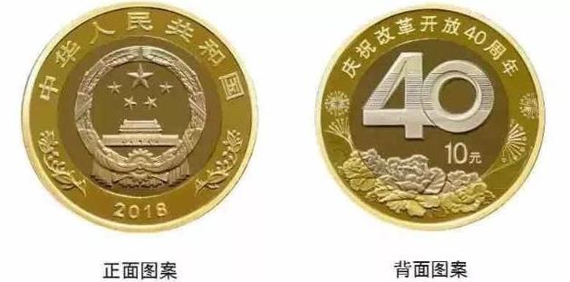 改革開房40周年紀念幣