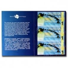 南极100周年企鹅塑料纪念钞三连体