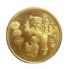 2005年生肖鸡年贺岁 普通流通纪念币