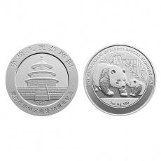 厦门经济特区建设30周年熊猫加字纯银纪念币