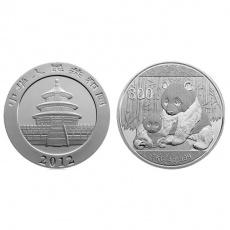 2011年版熊猫1公斤本色银币