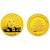 2011年熊猫1盎司本色金币