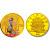 2002年中国京剧艺术第4组1/2盎司彩金币 闹天宫