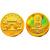 2003年幻彩观音1/10盎司彩金币莲花观音彩金币