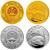 2009年己丑牛年生肖本金银套币(1/10盎司金+1盎司银)