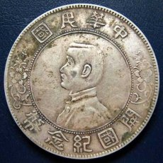 中华民国开国纪念币(孙小头)
