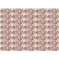 加拿大整版钞40连体