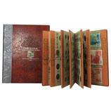 中国普通流通纪念币大全套珍藏册