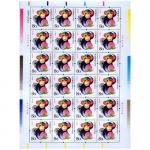 2004年第三轮生肖邮票猴大版 整版票
