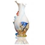 珐琅彩瓷海底世界花瓶