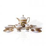 欧式陶瓷versace(范思哲)陶瓷17头皇家咖啡具茶具