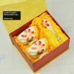 珐琅彩瓷时尚百合浮雕瓷器