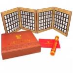 《红太阳永不落》伟大领袖毛泽东银铤大全 毛主席诞辰120周年纪念银铤