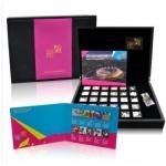2012伦敦奥运金银邮票大全套