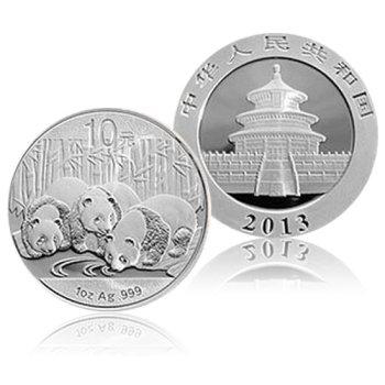 2013年熊猫1盎司银币 2013银猫