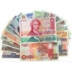20国外国纸币