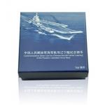 2012年中国人民解放军海军航母辽宁舰1盎司本银币