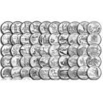 美国州币56枚大全套(50州+6个特区)25美分纪念硬币