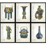 2013-9景泰蓝特种邮票套票