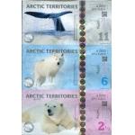 2013年北极三连体测试钞