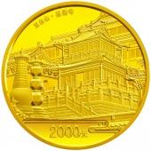 2012五台山5盎司圆形金质币