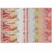马来西亚10元三连体