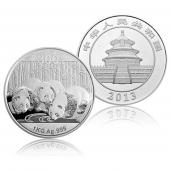 2013年熊猫金银纪念币1公斤银币
