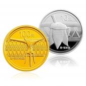 2012青铜器金银币套装