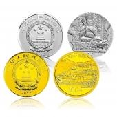 2012五台山金银(开光)套币